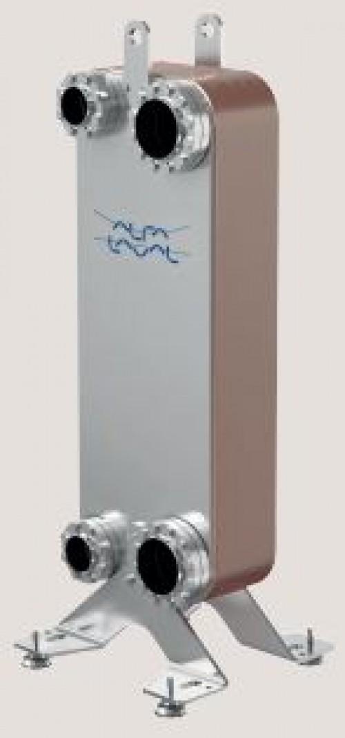 Паяный пластинчатый теплообменник CB300