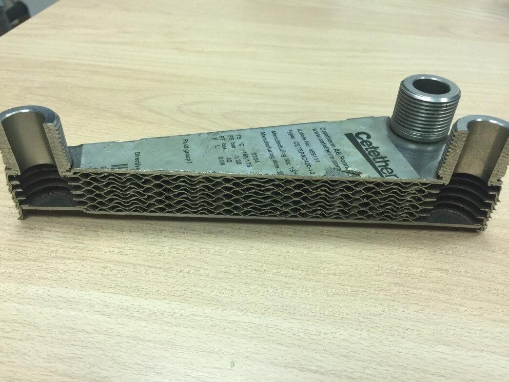Паяный теплообменник-конденсатор Alfa Laval CB100 Липецк Кожухотрубный конденсатор ONDA C 36.303.2000 Невинномысск