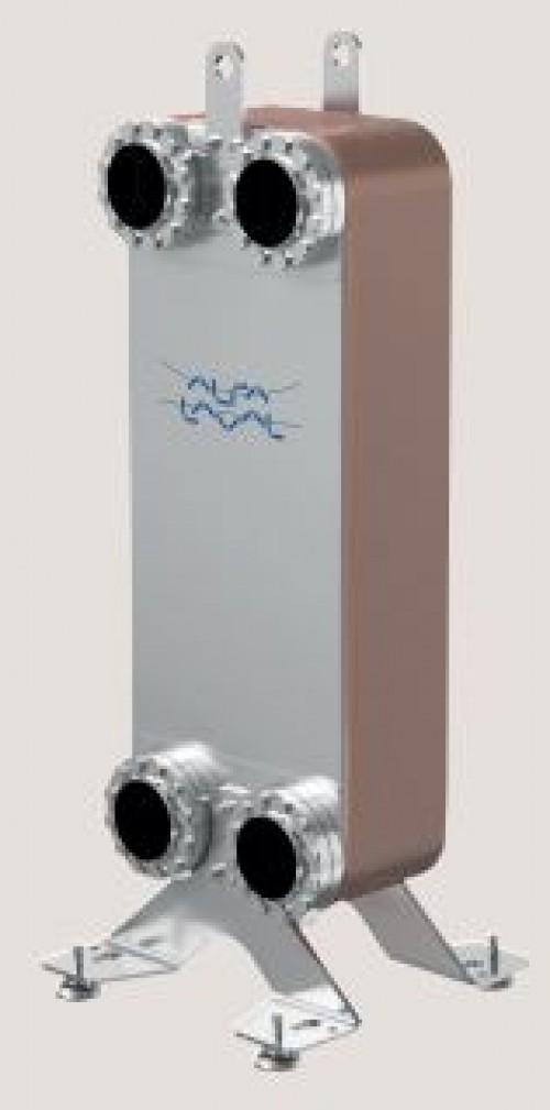 Паяный пластинчатый теплообменник CB400